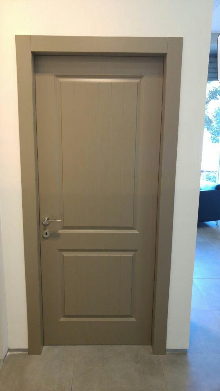 דלת 2 פנל צבע אפור בתנור מיוחד מיוחד